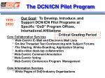 the dcn icn pilot program