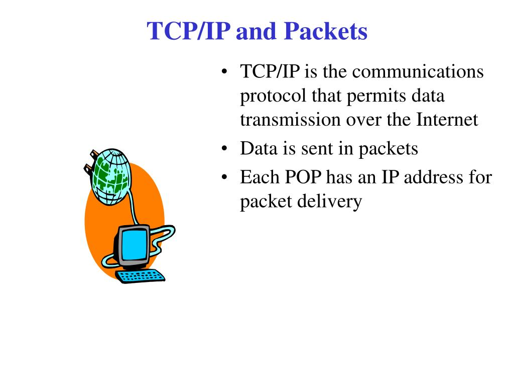 TCP/IP and Packets