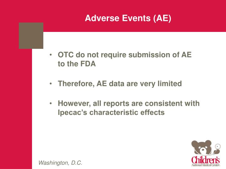 Adverse Events (AE)