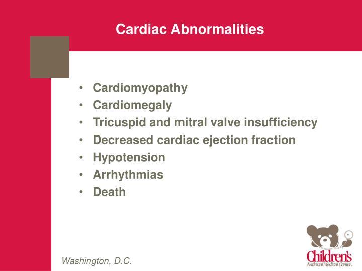 Cardiac Abnormalities