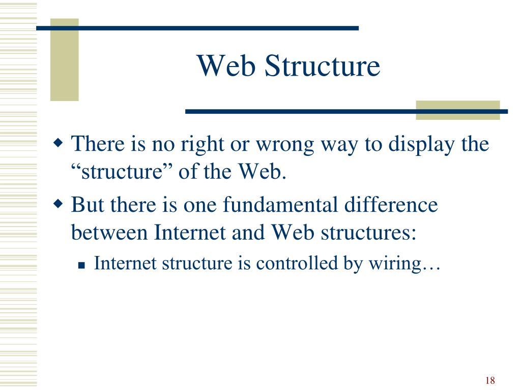 Web Structure