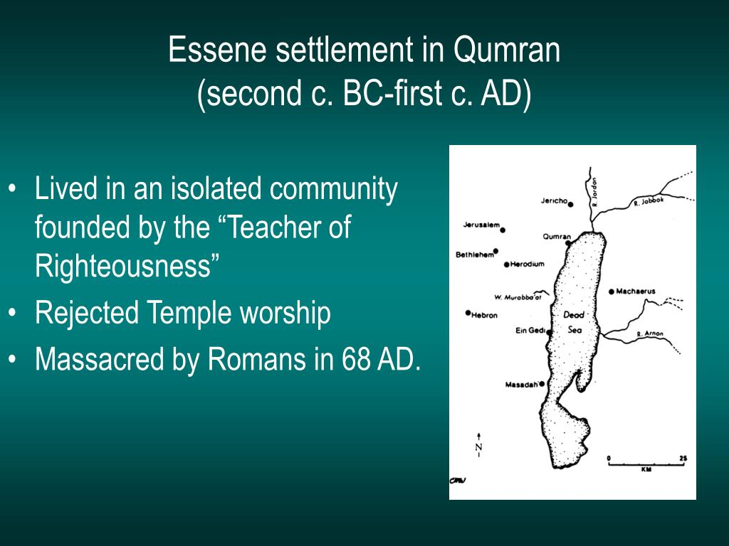 Essene settlement in Qumran