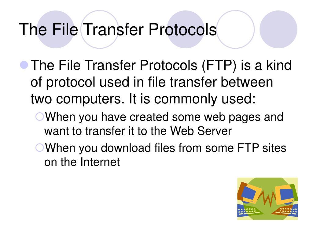 The File Transfer Protocols