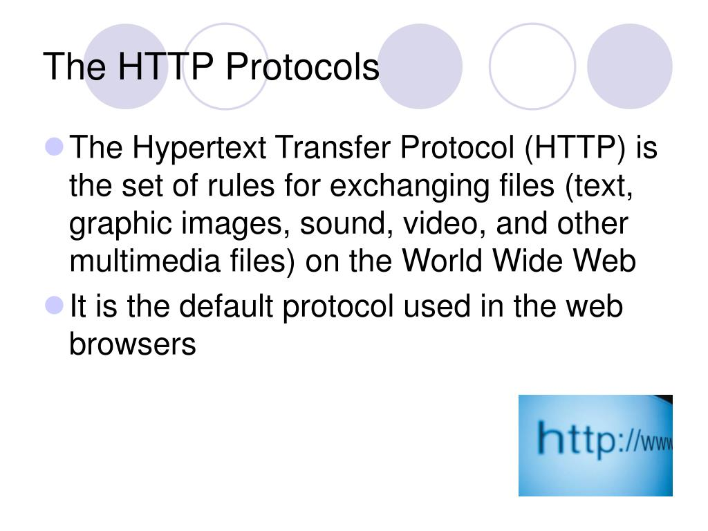 The HTTP Protocols