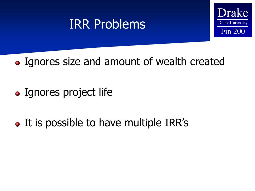 npv and irr An roi calculator is the best way to develop the financial justification for it projects as long as it includes npv, irr and payback period.