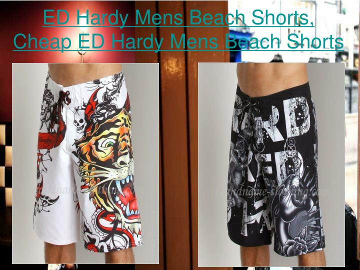 Ed hardy mens beach shorts cheap ed hardy mens beach shorts