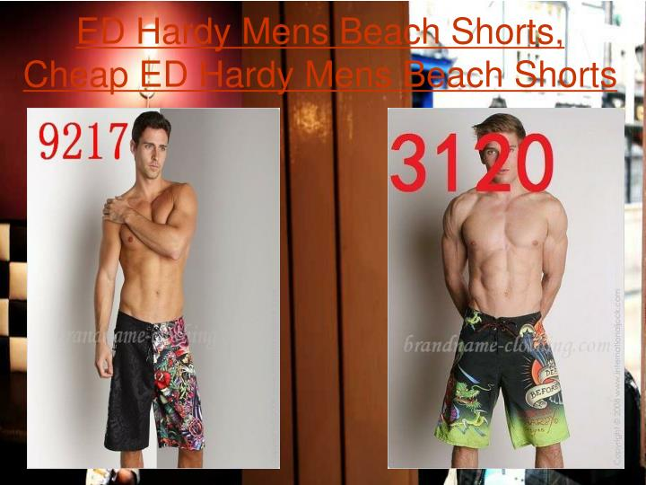 Ed hardy mens beach shorts cheap ed hardy mens beach shorts2