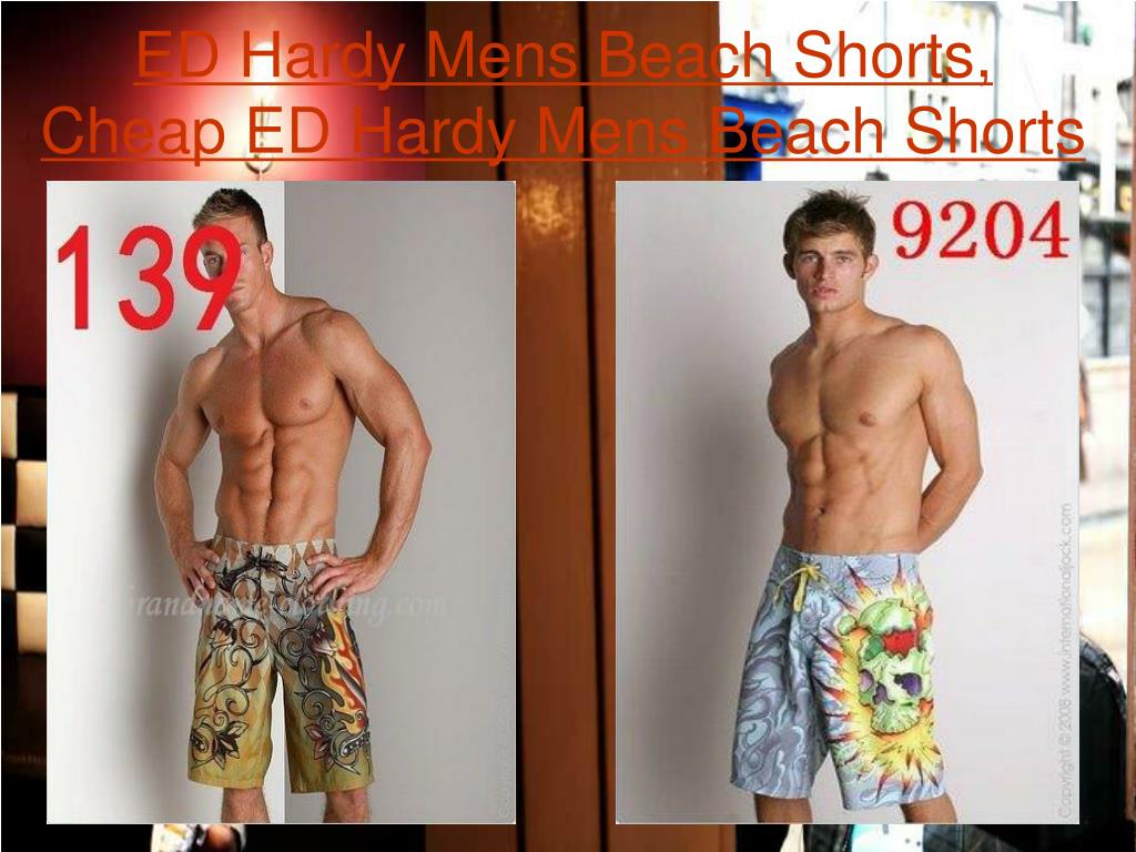 ED Hardy Mens Beach Shorts, Cheap ED Hardy Mens Beach Shorts