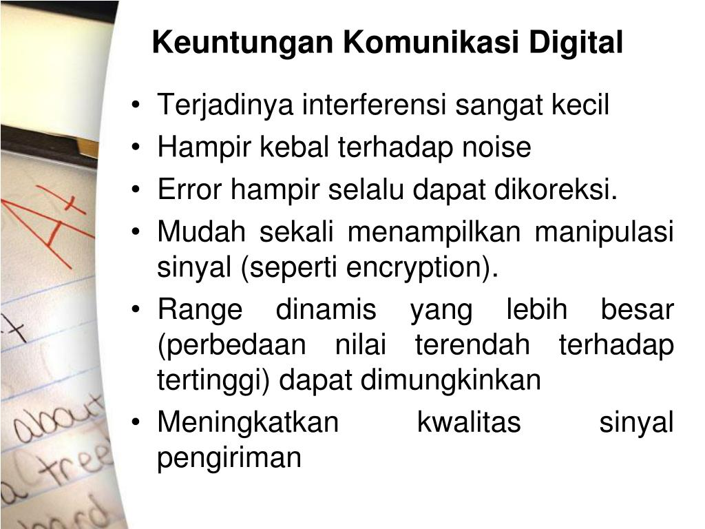 Keuntungan Komunikasi Digital