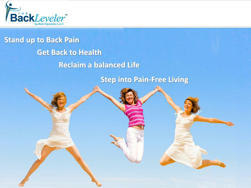Stand up to Back Pain
