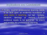 implications and conclusions43