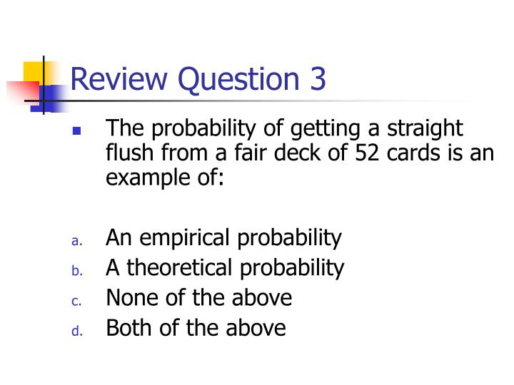 Review Question 3