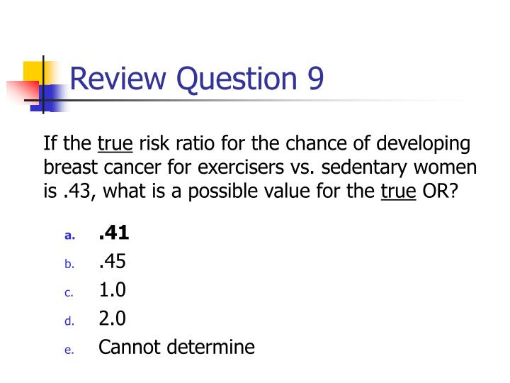 Review Question 9
