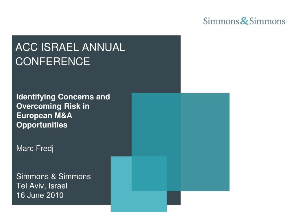 acc israel annual conference
