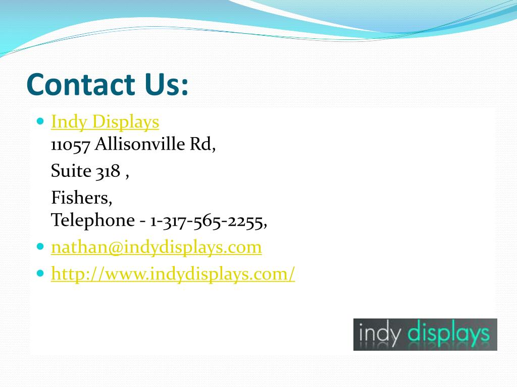 Contact Us: