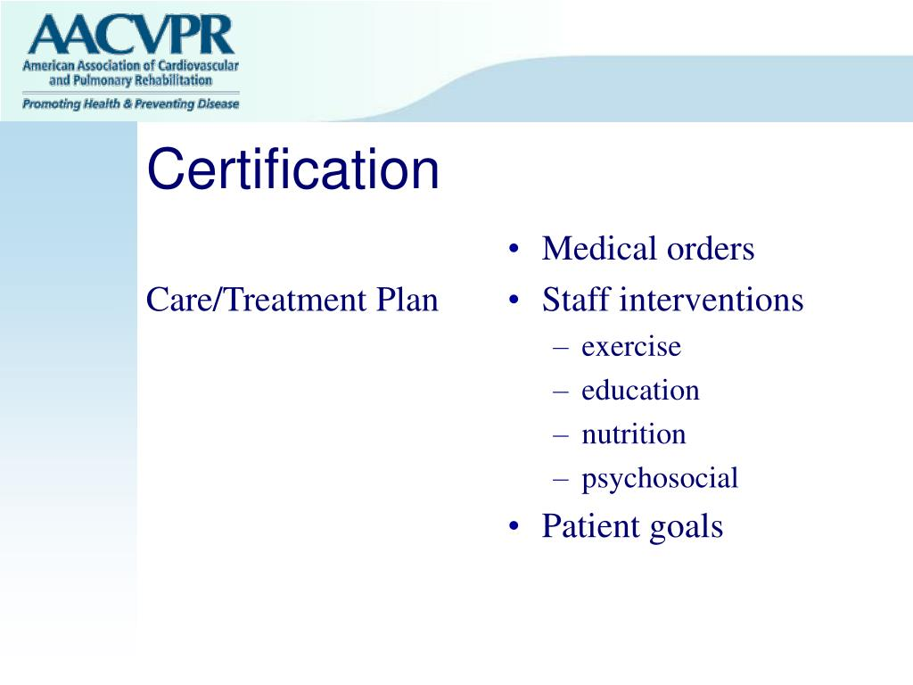 Care/Treatment Plan