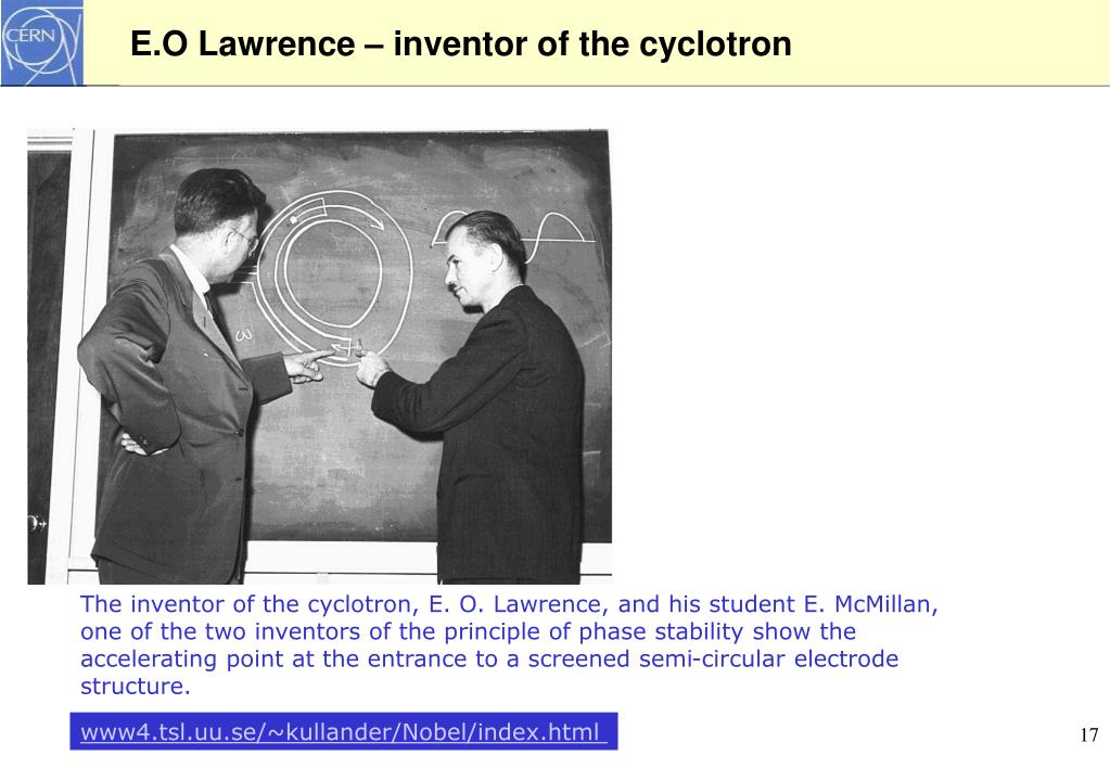 E.O Lawrence –