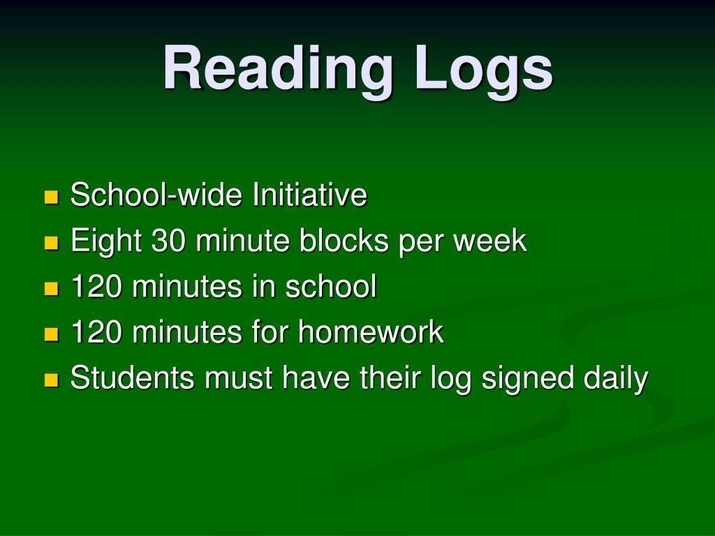 Reading Logs