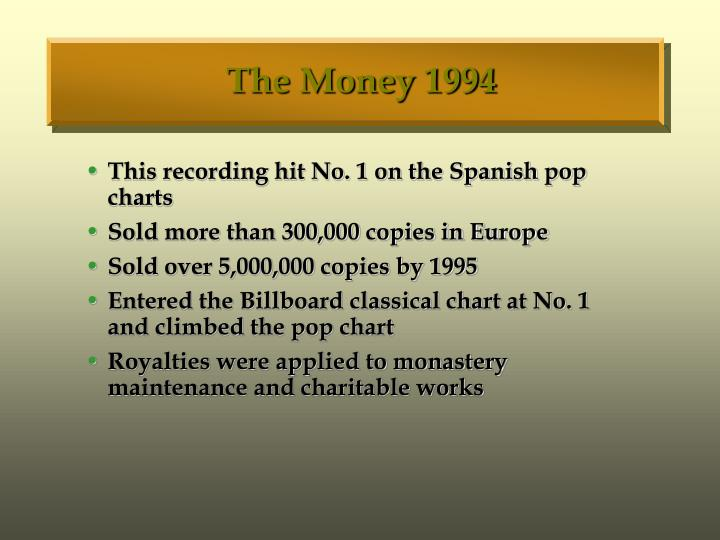 The Money 1994