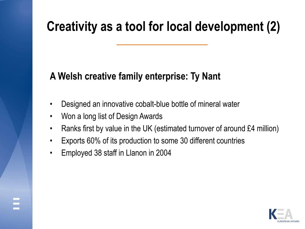 Creativity as a tool for local development (2)