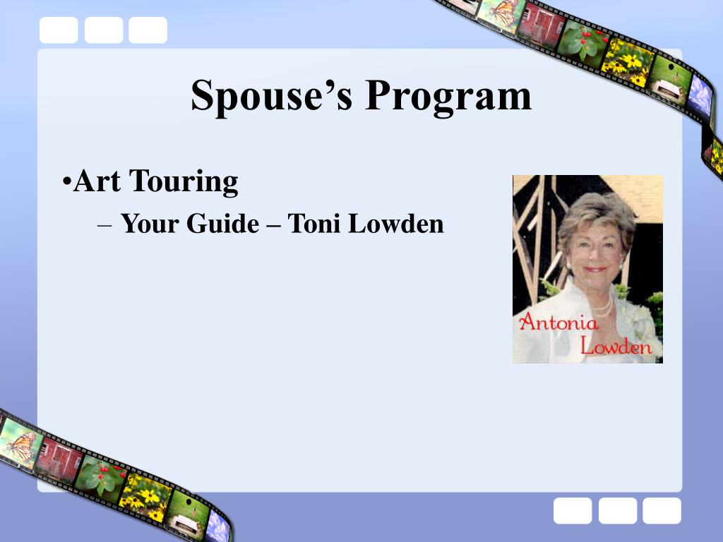 Spouse's Program