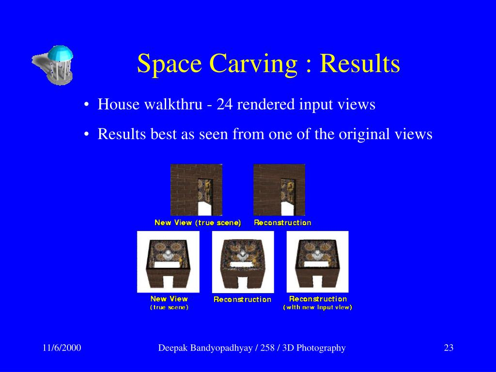 Space Carving : Results