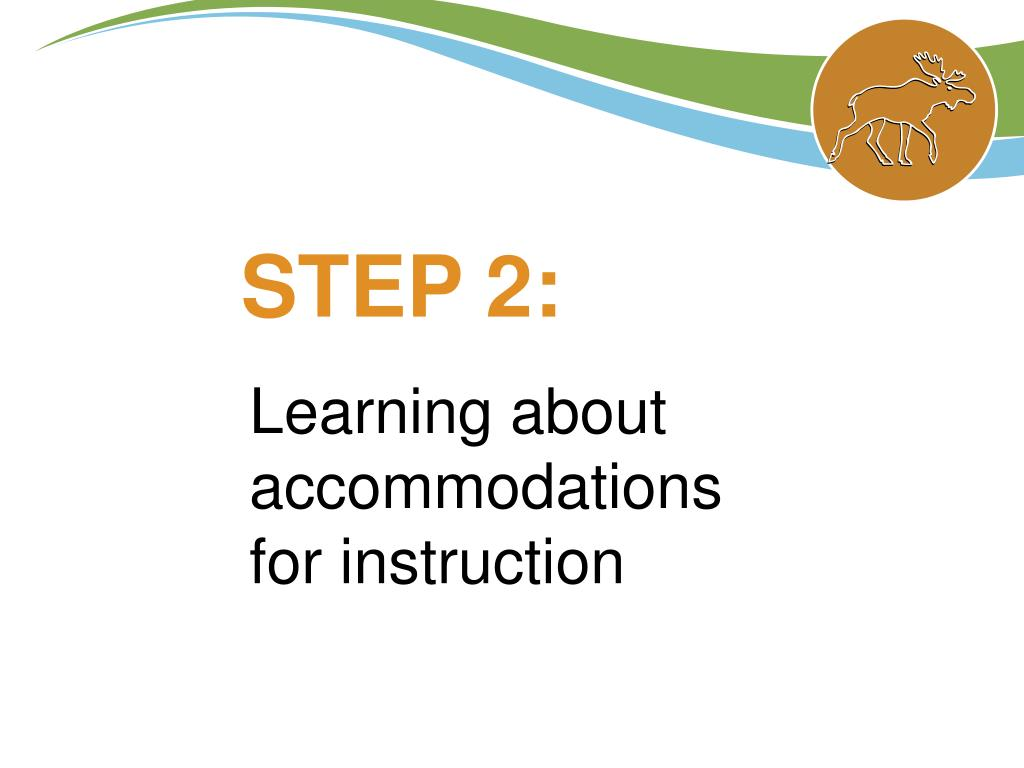 Learning about accommodations