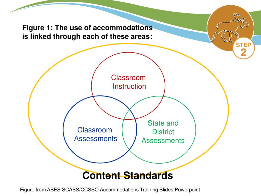 Figure 1: The use of accommodations