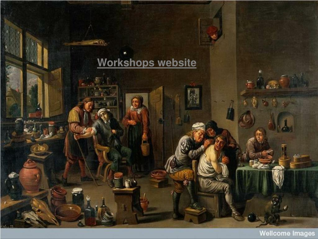 Workshops website