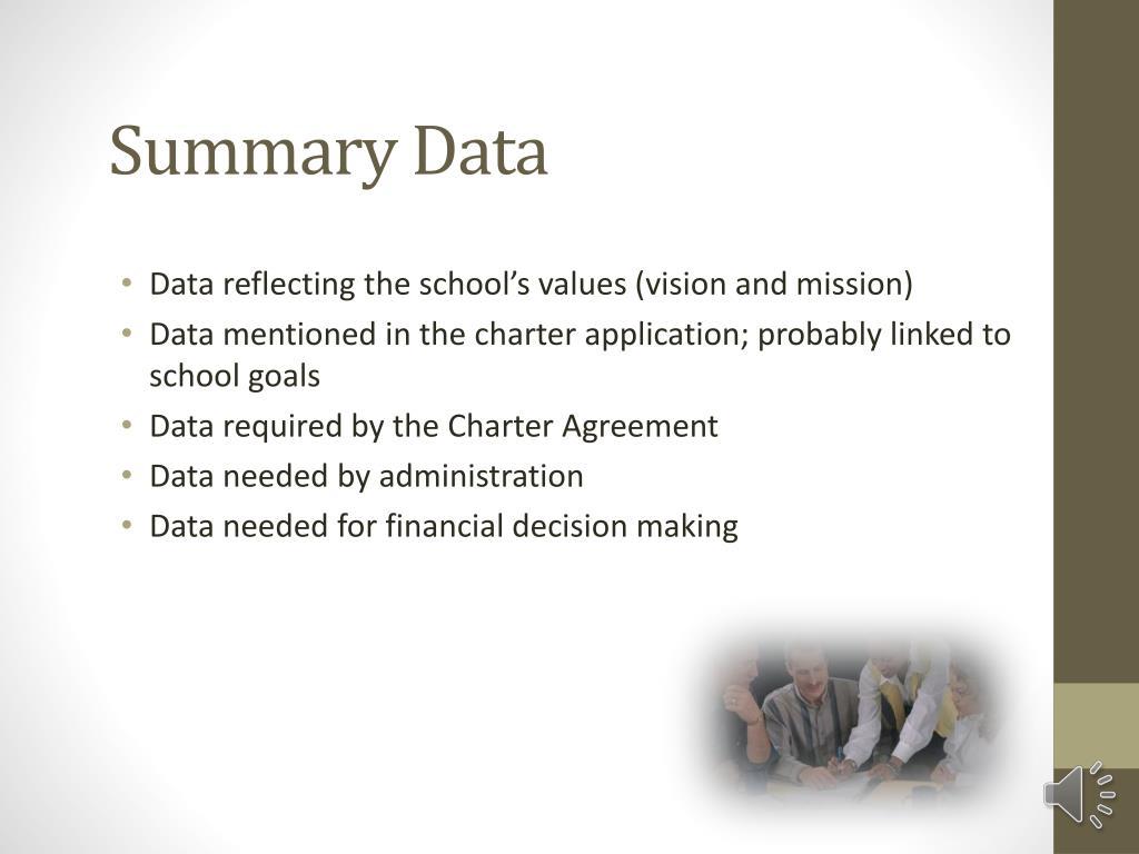 Summary Data