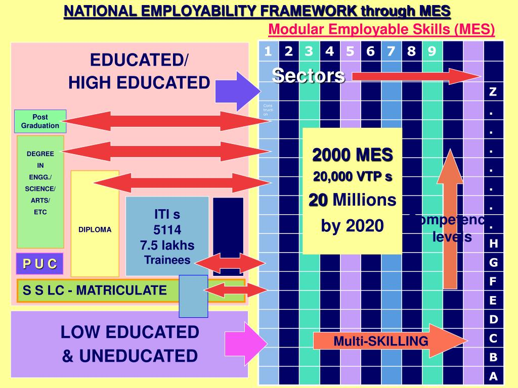 NATIONAL EMPLOYABILITY FRAMEWORK through MES