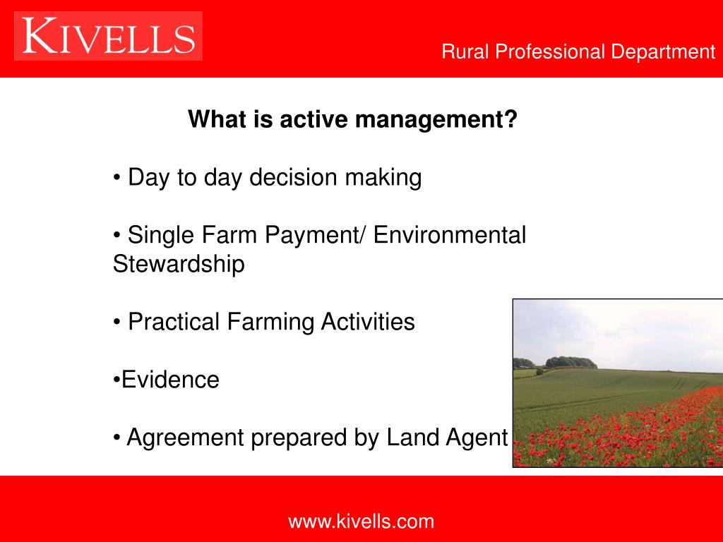 Rural Professional Department