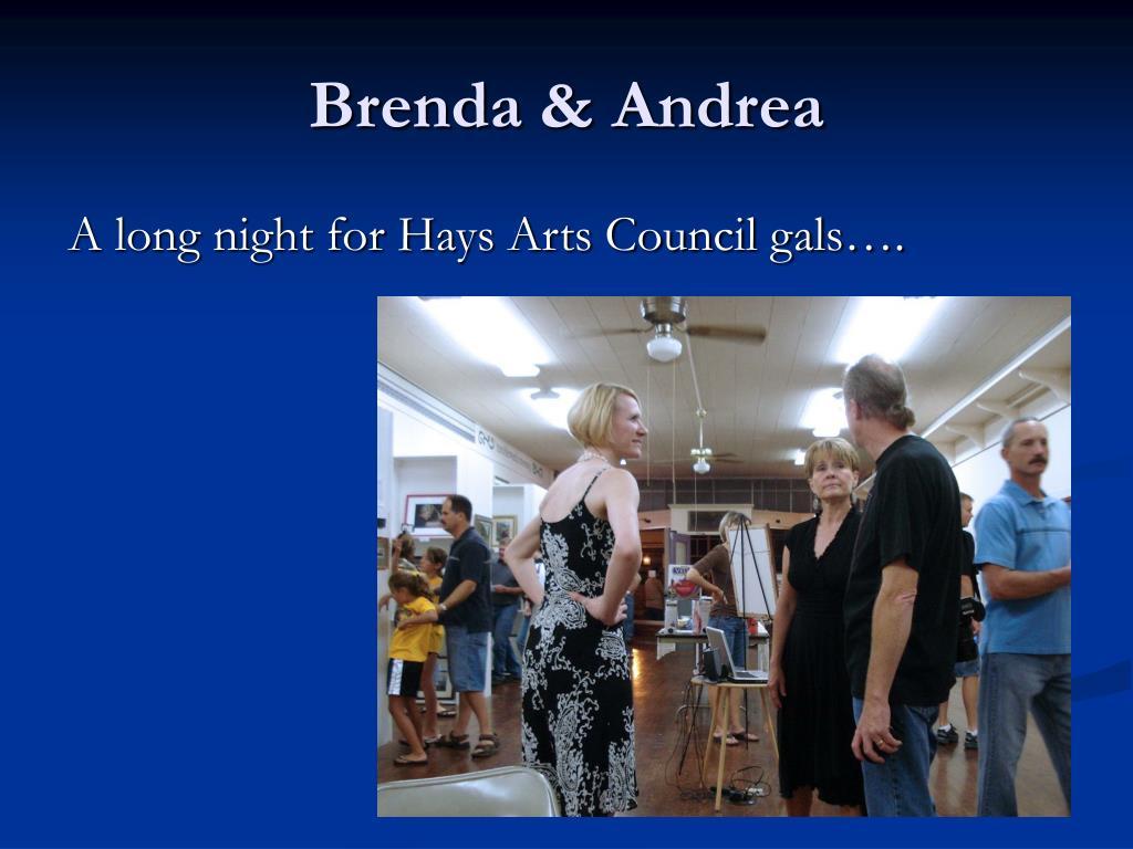 Brenda & Andrea
