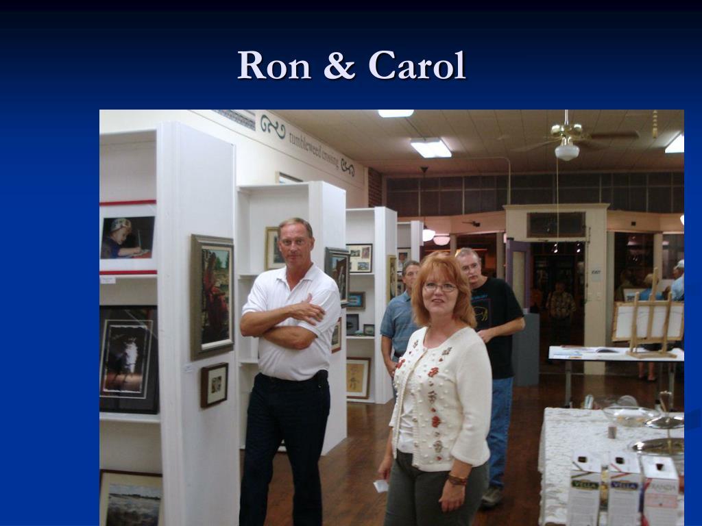Ron & Carol