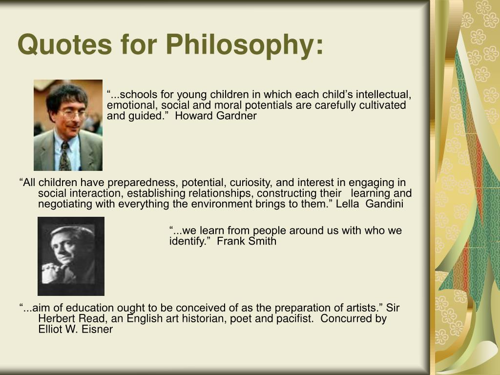 Quotes for Philosophy: