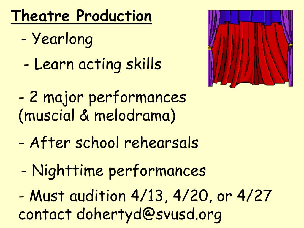 Theatre Production
