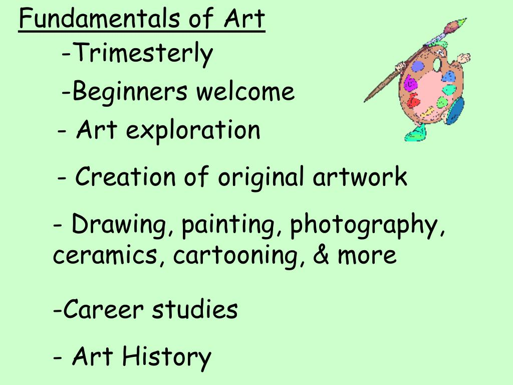 Fundamentals of Art