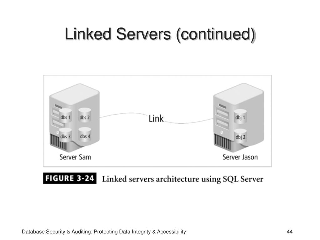 Linked Servers (continued)