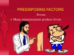 predisposing factors22