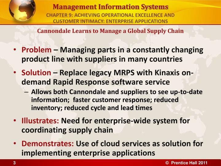 Chapter 9 achieving operational excellence and customer intimacy enterprise applications3 l.jpg