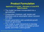 product formulation17