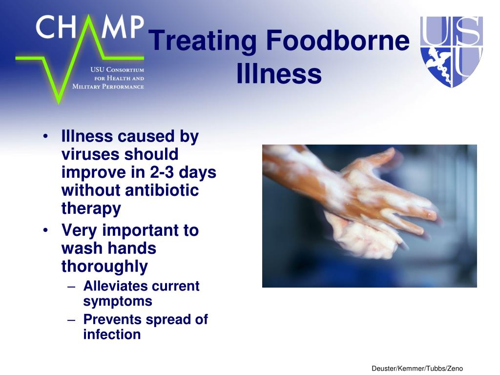Treating Foodborne Illness