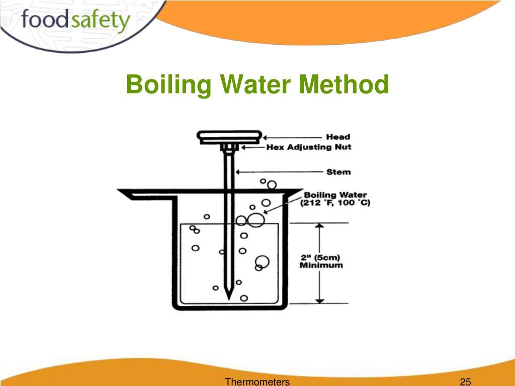 Boiling Water Method