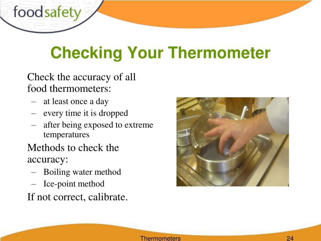 Checking Your Thermometer