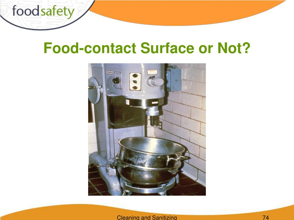 Food-contact Surface or Not?