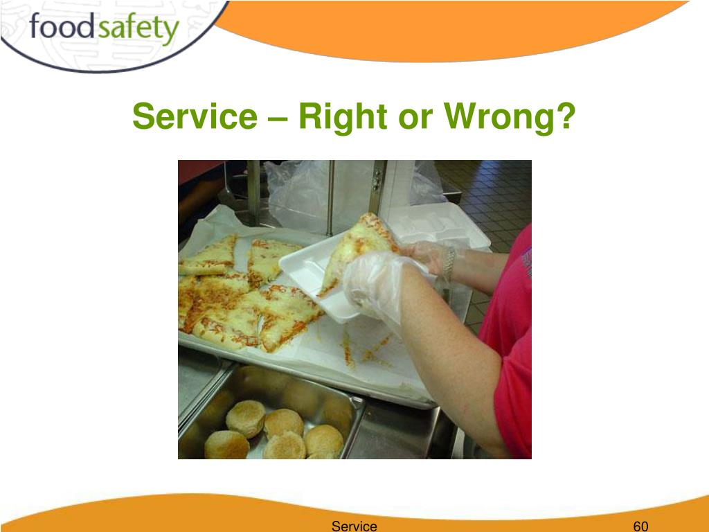 Service – Right or Wrong?