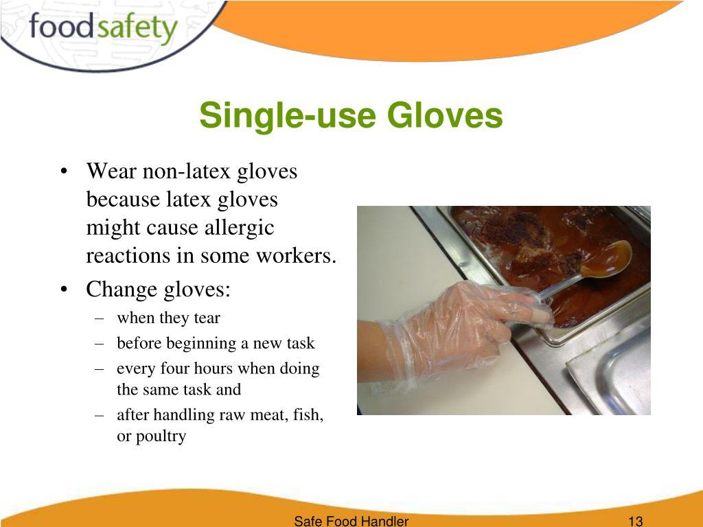 Single-use Gloves