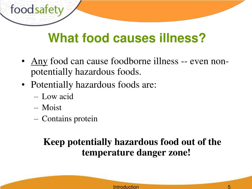 What food causes illness?