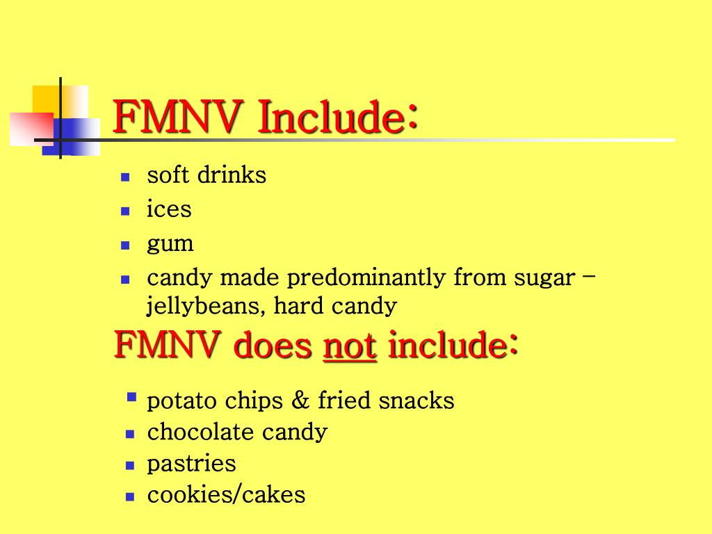 FMNV Include:
