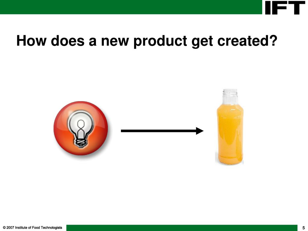 How does a new product get created?